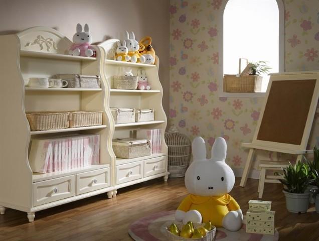 ספריה לחדר ילדים - היבואנים
