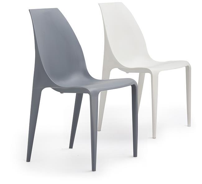 כסאות אפור ולבן - היבואנים