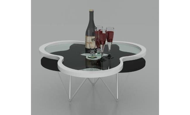 שולחן סלון תלתן - היבואנים