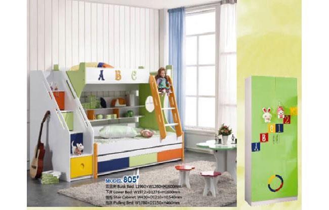 מיטת קומותיים צבעונית - היבואנים