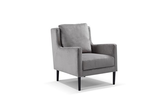 כורסא מעוצבת מבד - היבואנים