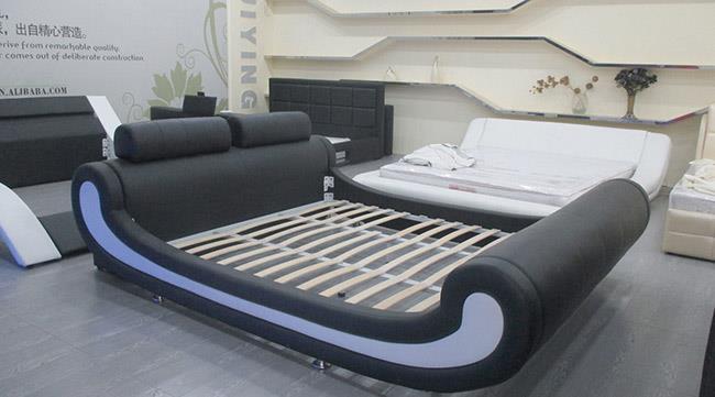 מיטה בצבע שחור - היבואנים