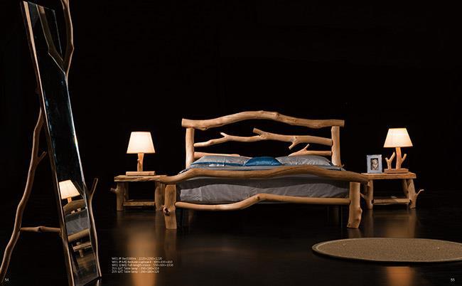 מיטה מעץ מלא - היבואנים