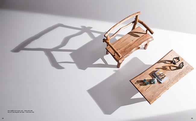 ספסל עץ - היבואנים