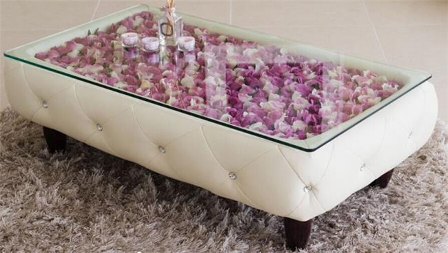 שולחן לבן לסלון - היבואנים
