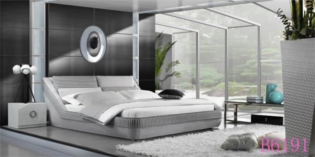 מיטה מרופדת פסים - היבואנים