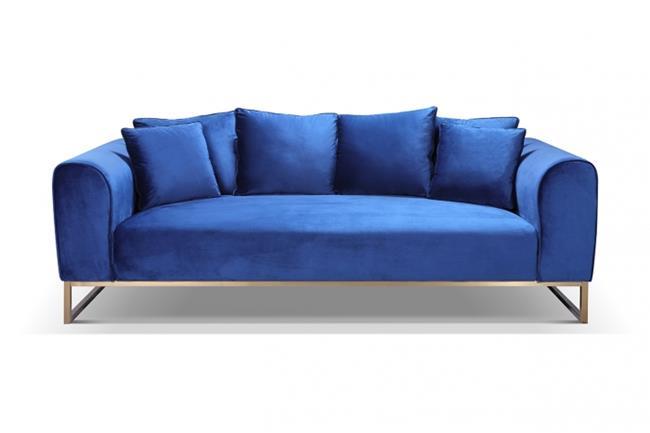 ספה גדולה מקטיפה - היבואנים