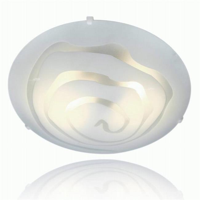 מנורה צמודת תקרה מעוצבת - שקע ותקע