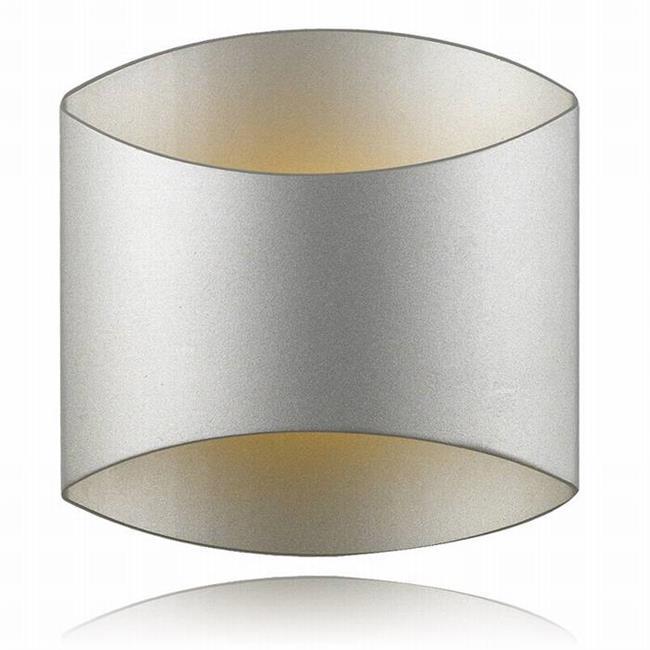 מנורת קיר מעוגלת - שקע ותקע