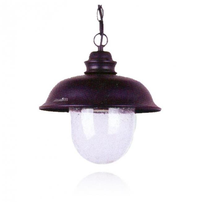 מנורת תליה ייחודית - שקע ותקע