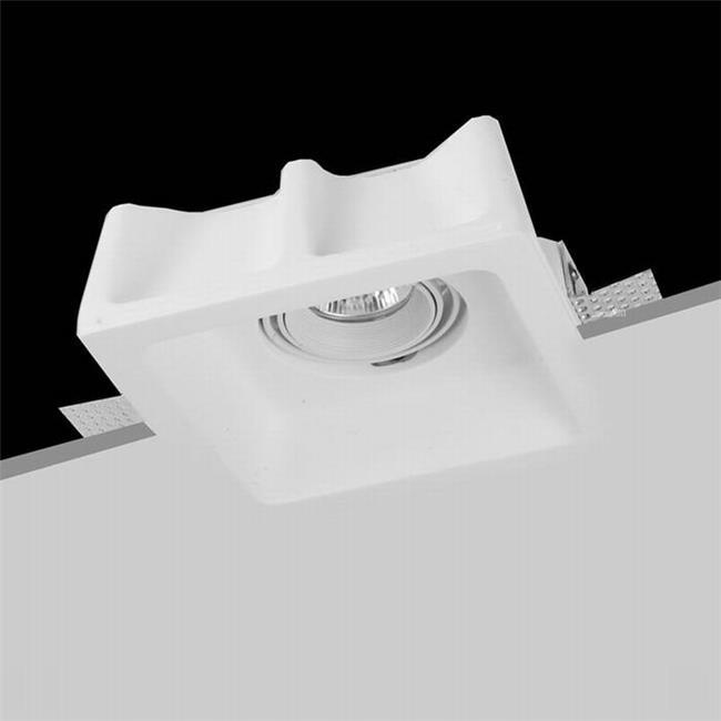 תאורת גבס שקועה לתקרה - שקע ותקע