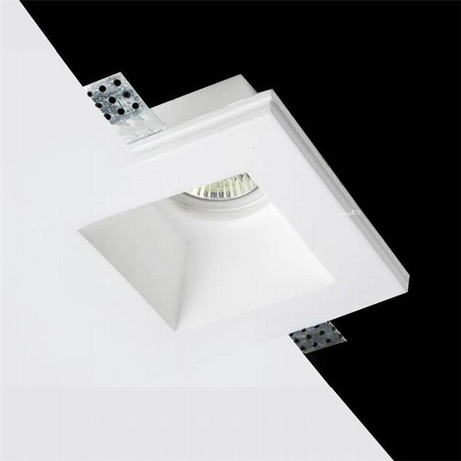 מנורת גבס יחיד - שקע ותקע
