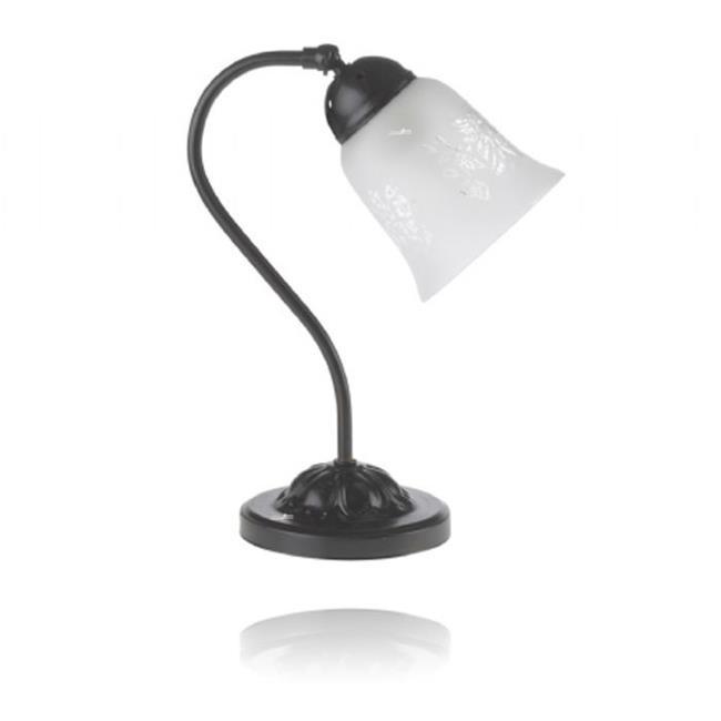 מנורת שולחן ייחודית - שקע ותקע