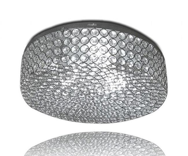 מנורה עגולה יוקרתית - שקע ותקע