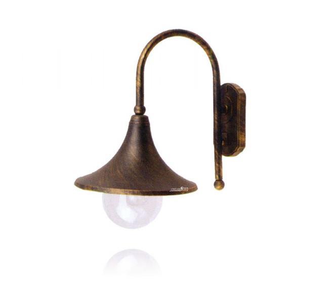 מנורת קיר פנס - שקע ותקע