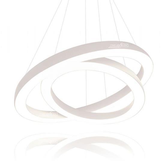 מנורת תלייה טבעות - שקע ותקע