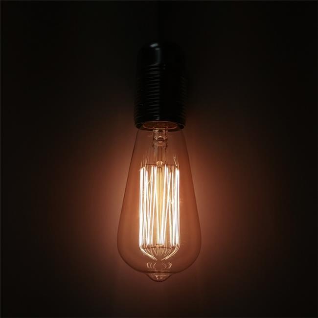 מנורת פחם - שקע ותקע