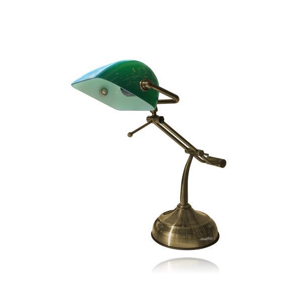 מנורת שולחן עו''ד - שקע ותקע
