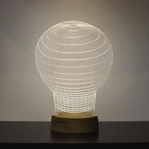 מנורת גביש - נורה - שקע ותקע