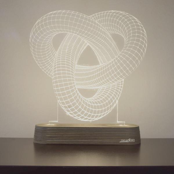 מנורת גביש - אינפיניטי - שקע ותקע