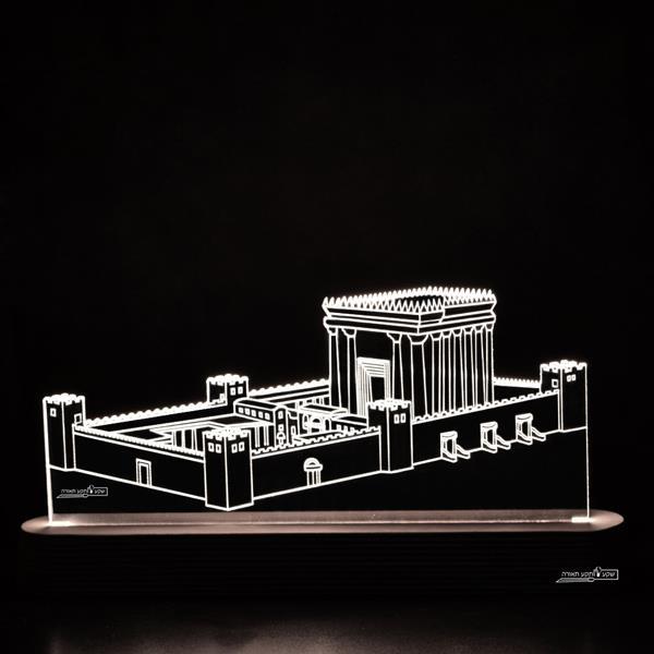 מנורת גביש - בית המקדש - שקע ותקע