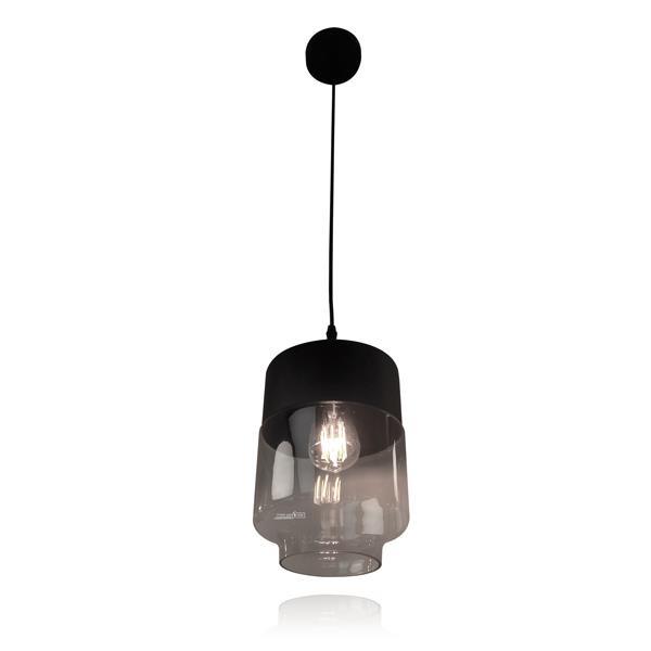 מנורת תלייה זכוכית 5509 - שקע ותקע