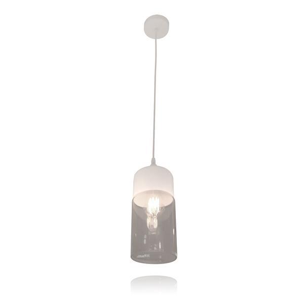 מנורת תלייה זכוכית 5511 - שקע ותקע