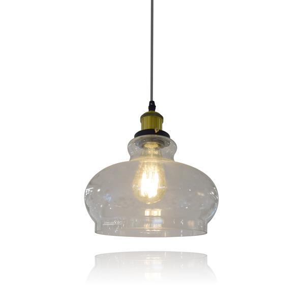 מנורת זכוכית 2279 - שקע ותקע