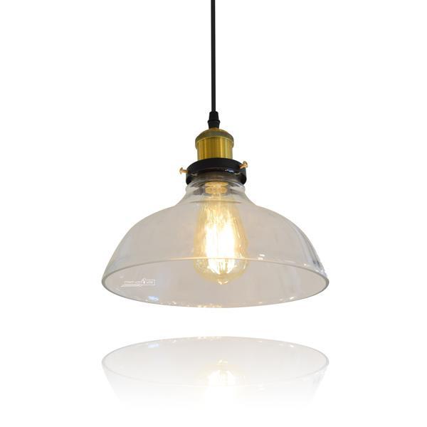 מנורת זכוכית 2277 - שקע ותקע
