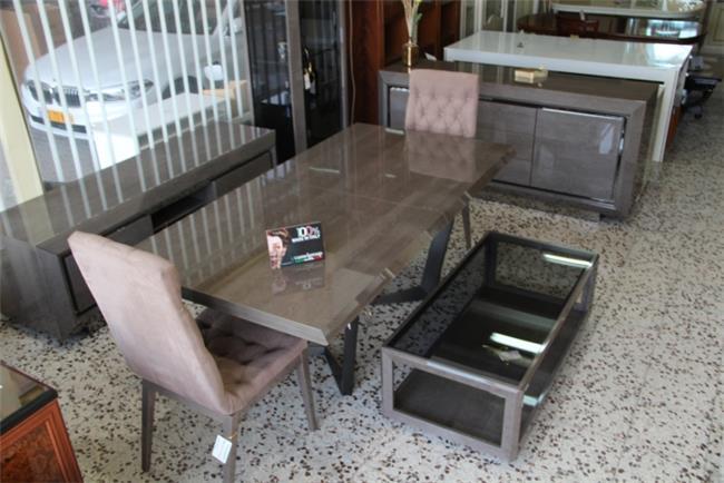 שולחן אוכל מעץ - רהיטי מוביליה
