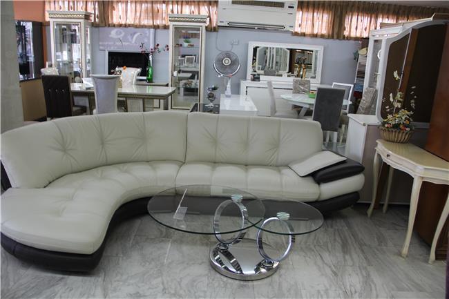 ספה לבנה גדולה - רהיטי מוביליה