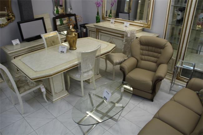 שולחן+4 כיסאות - רהיטי מוביליה