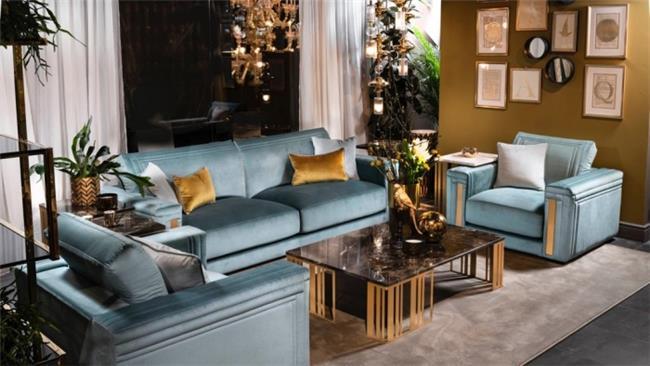 מערכת ישיבה בעיצוב יוקרתי  - רהיטי מוביליה