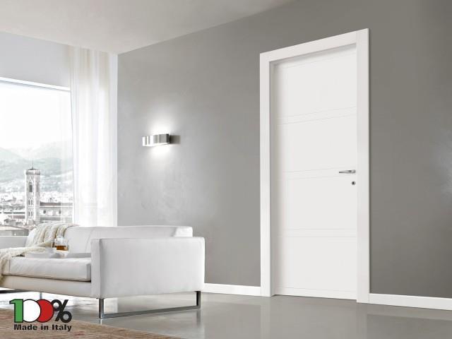 דלת לבנה - לה פורטה - דלתות פנים