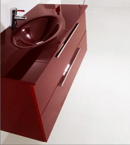 ארון אדום לחדרי אמבטיה - אולימפיה דיזיין