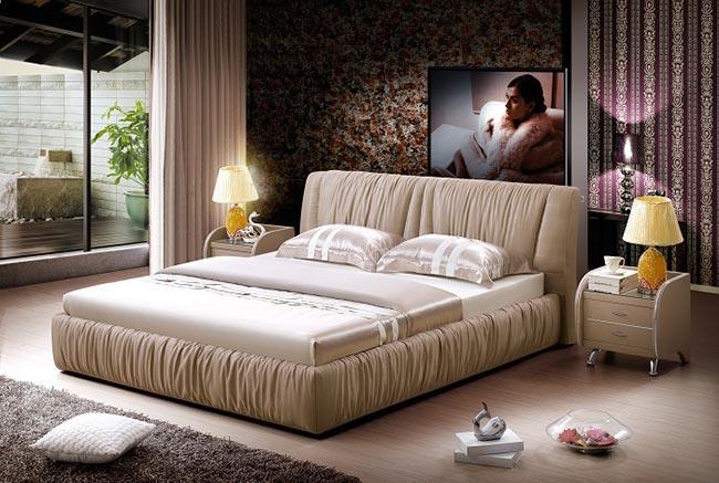 מיטה מרופדת עור - להב רהיטים היבואן