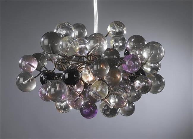 מנורת כדורי פוליאסטר - יהודה אוזן