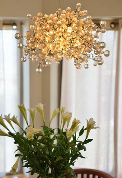 תאורת תקרה פרחים - יהודה אוזן