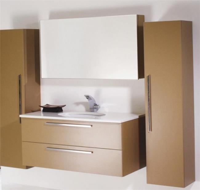 ריהוט אמבטיה חום - OM Design