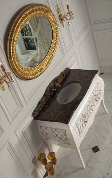 ריהוט קלאסי לחדר האמבטיה - OM Design - פרימיום