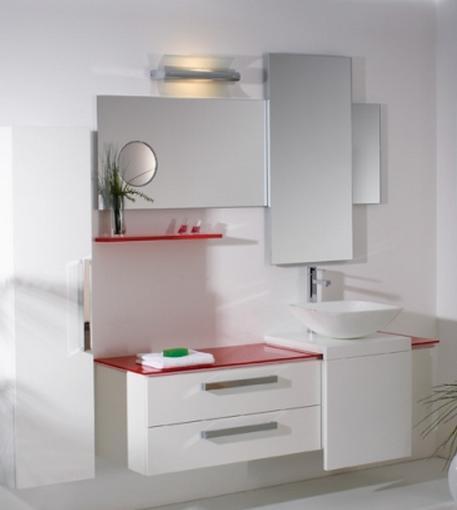 ריהוט לבן לחדר הרחצה - OM Design