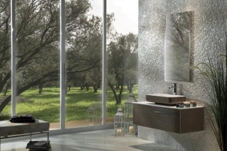 ארון אמבטיה צמוד לקיר - OM Design