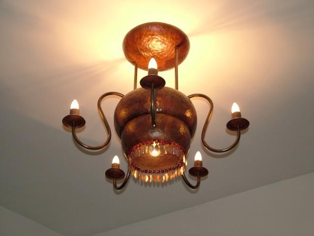 מנורה צמודת תקרה - גלריית נתיש