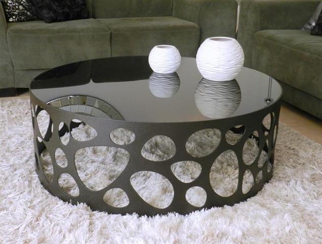 שולחן מתכת עגול - Besto gallery