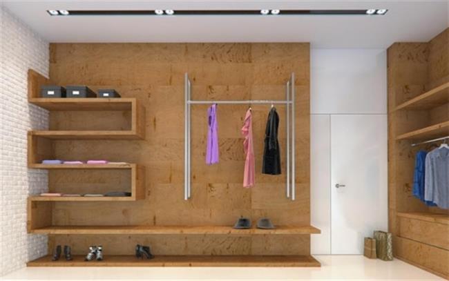 חדר ארונות מרשים - Samgal concept