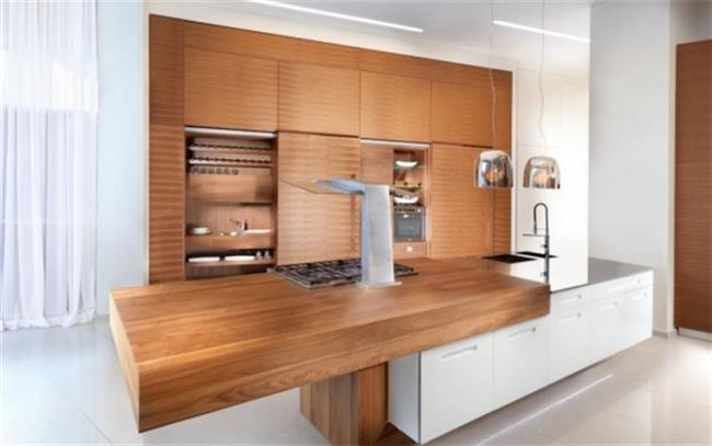 מטבח עץ אגוז - Samgal concept