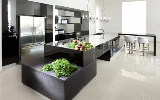 מטבח שחור - Samgal concept