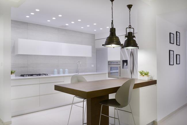מטבח בסגנון מודרני - Samgal concept