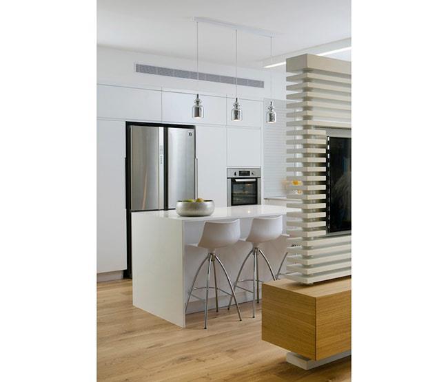 מטבחים לבנים מעוצבים - Samgal concept