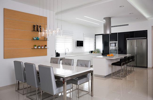 מטבח שלייפלק וזכוכית - Samgal concept